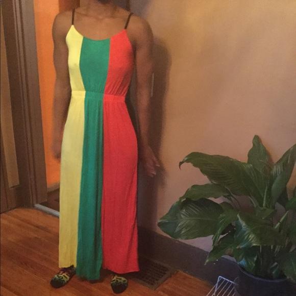 Dresses   Plus Size Rasta Dress   Poshmark